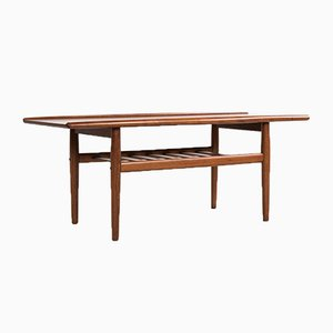 Danish Coffee Table in Teak by Grete Jalk, 1960s