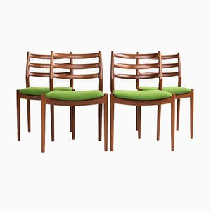 Dining Chairs in Teak by Arne Vodder for France & Søn, 1960s, Set of 4
