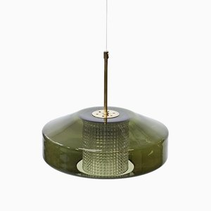 UFO Pendant Lamp by Carl Fagerlund for Orrefors, 1960s