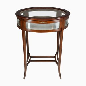 Edwardian Vitrine Table