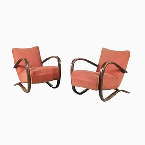H-269 Chairs by Jindrich Halabala for Up Zavody, Czech, 1930s, Set of 2