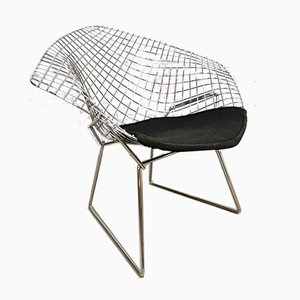 Diamond Wire Chair by Harry Bertoia for Knoll International, 1980s