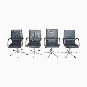 Swivel Chairs, 1990s, Set of 4