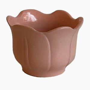 Vintage Ceramic Flower Pots, West Germany, 1970s, Set of 2
