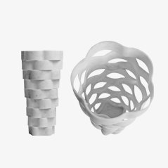 Extragroße Little Gerla Vase von Paolo Ulian & Moreno Ratti, 2015