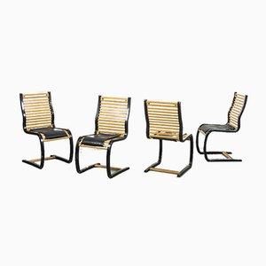 Scandinavian Modern Dining Chairs, Set of 6