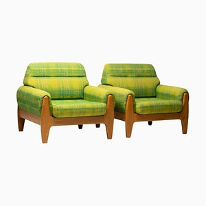 Lounge Chairs by Illum Wikkelsø, 1960s, Set of 2