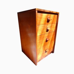 Small Teak Chest of Drawers, 1960s