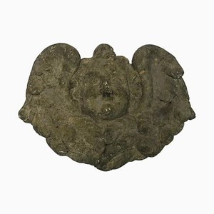 Vintage Stone Angel Water Feature Head
