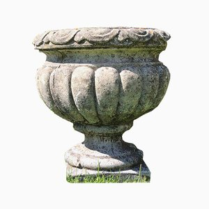 Small Edwardian Stone Planters, Set of 3