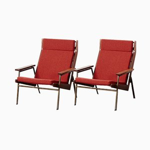 Mid-Century Lotus Lounge Chairs by Rob Parry for Gelderland, 1950s, Set of 2