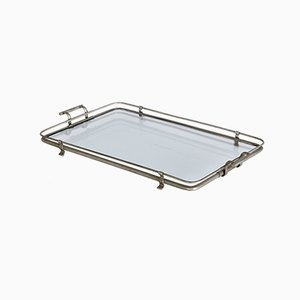 Vintage Glass Tray, 1980s