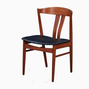 Chaises de Salon Mid-Century en Teck de Vejle Mobelfabrik, Danemark, Set de 6