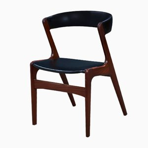 Mid-Century Danish Teak Dining Chairs by Kai Kristiansen, Set of 4