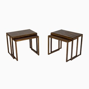 Mid-Century Danish Rosewood Nesting Tables, 1960s, Set of 2