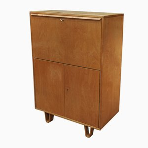 Birch Model CB07 Bar Cabinet by Cees Braakman for Pastoe, 1950s