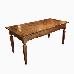 Tavolo da pranzo antico in legno di noce