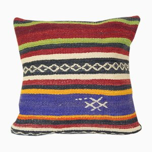 Handmade Turkish Kilim Cushion Cover