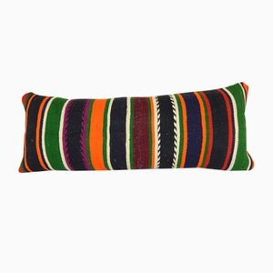 Vintage Striped Queen Boho Woven Bedding Kilim Cushion Cover