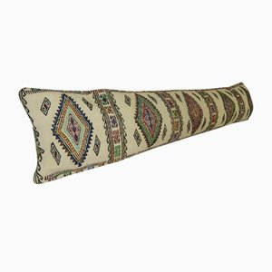 Extra Long Handmade Turkish Bedding Lumbar Kilim Cushion Cover