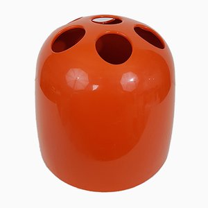 Dedalo Red Umbrella Stand by Emma Gismondi Schweinberger for Kartell, 1960s