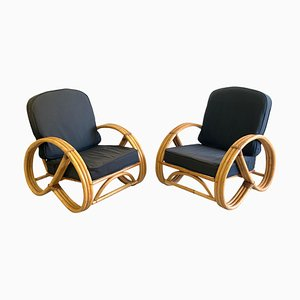 Chairs in the Style of Paul Frankl, 1950s, Set of 2
