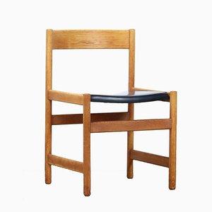 Oak Trivia Shaker Chair by Yngvar Sandström for Nordiska Kompaniet, 1960s