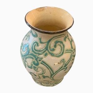 Vase Art Déco en Céramique, 1930s
