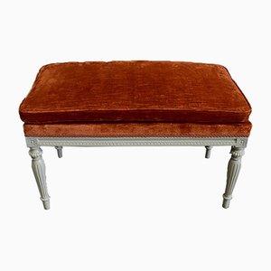 Small 19th Century Louis XVI Style Bench