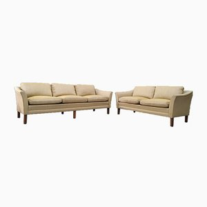 Scandinavian Sofas by Folke Ohlsson for Dux, 1960s, Set of 2