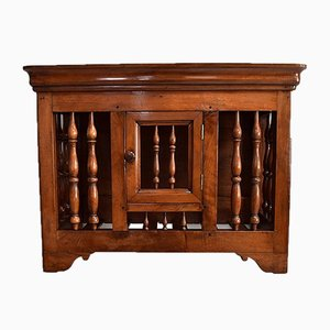 Small 19th Century Louis Philippe Walnut Panetiere