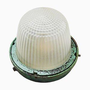 Lampe de Bureau Industrielle de Holophane, France, 1950s