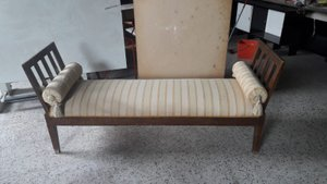 Small Antique Italian Wooden Sofa
