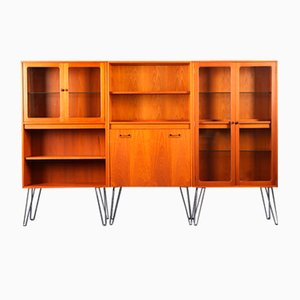 Model Fresco Wall Unit Bar Cabinet on Hairpin Legs by Victor Wilkins for G-Plan, 1970s
