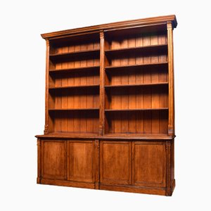 Large Antique Gothic Style Bookcase