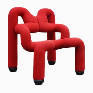 Vintage Stuhl von Ekstrom Terje für Stokke, 1980er