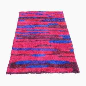 Mid-Century Long Pile Carpet from Walter Mack