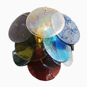 Applique in vetro di Murano multicolore nello stile di Vistosi, 1978, set di 2