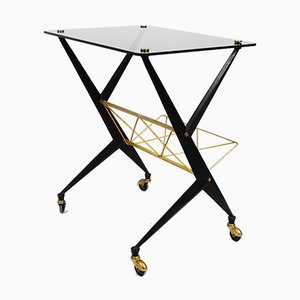 Mid-Century Italian Side Table by Angelo Ostuni for Frangi Milano, 1950s