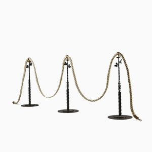 Stanchions with Rope, Sweden, 1900s