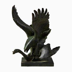 Sculpture par Hugo Liisberg, Danemark, 1900s