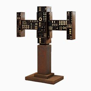 Escultura de Torsten Johansson, Denmark, años 60