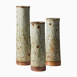 Vasi di Marianne Westman per Rörstrand, Svezia, anni '60, set di 3