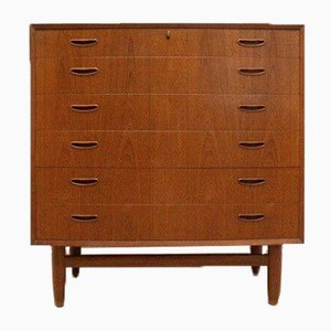 Mid-Century Danish Teak Chest of Drawers by Westergaard