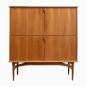 Vintage Danish Teak Drinks Cocktail Cabinet Cupboard from Fredericia