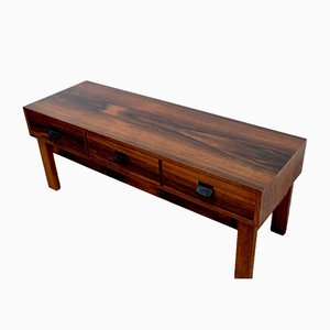 Mid-Century Swedish Rosewood Console Drawer Unit from AB Glas & Tra