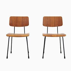 Chaises de Salon par AR Cordemeyer pour Gispen, 1960s, Set de 2