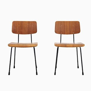 Esszimmerstühle von AR Cordemeyer für Gispen, 1960er, 2er Set