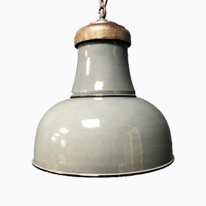 Emaillierte Fabriklampe, 1930er