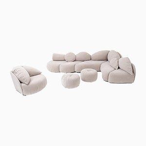Sculptural Sectional Sofa from Wiener Werstätten, 1970s